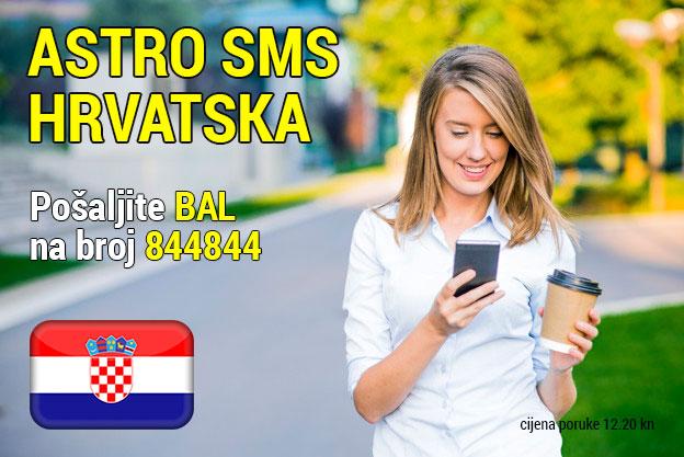 Astro sms Hrvatska