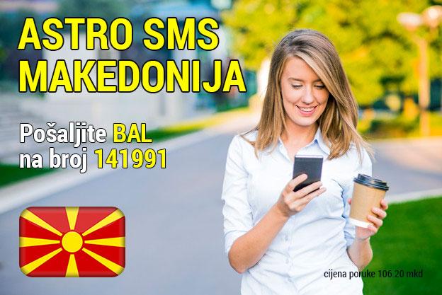 Astro sms Makedonija