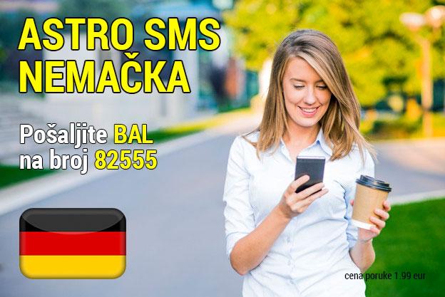 Astro sms Nemačka