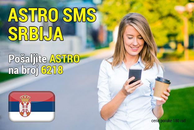 Astro sms Srbija