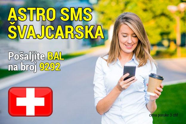 Astro sms Švajcarska