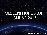 Mesečni horoskop za Januar 2015