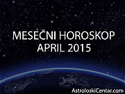 Mesečni horoskop za April 2015